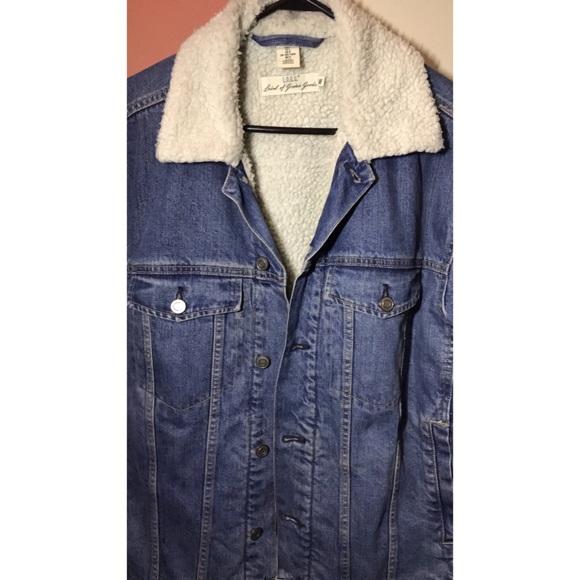 special for shoe good out x super service H&M men's denim jacket
